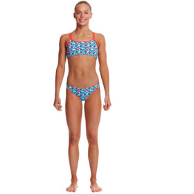 Funkita Criss Cross 2-delige Bikini Meisjes, bont